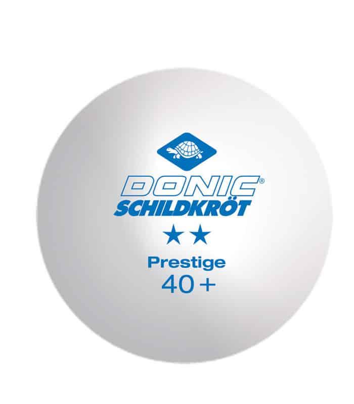 DONIC Μπαλάκια Ping Pong Prestige 2*Star Κουτί x 3