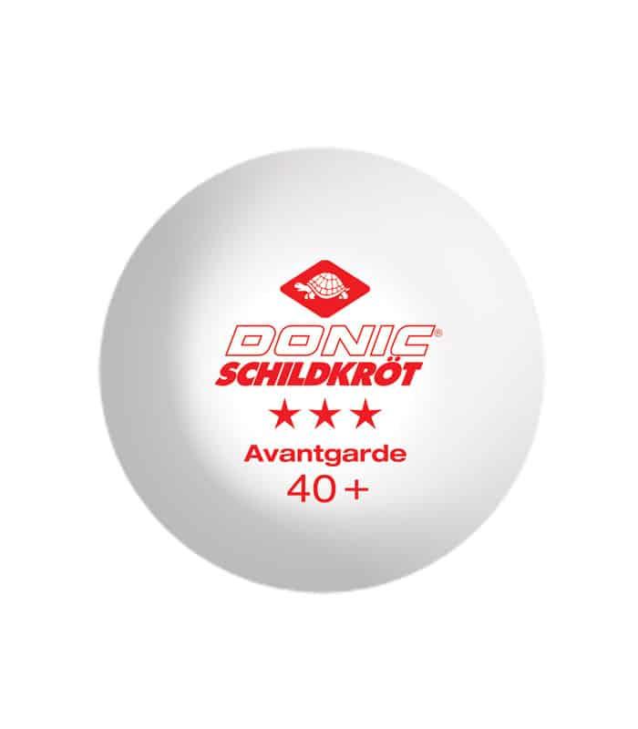 DONIC Μπαλάκια Ping Pong Avantgarde 3*Star Κουτί x 3