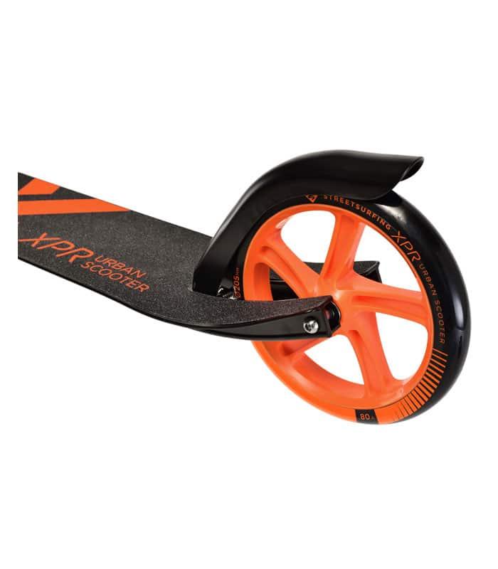 Πατίνι Urban Scooter XPR 205mm STREET SURFING Μαύρο/Πορτοκαλί