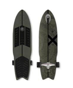 """Σανίδα Longboard Πατίνι Τρίτροχο White Striker 36"""" Street Surfing"""