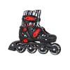 Roller Skates In-Line adjustable POOTER TEMPISH Μαύρο/Κόκκινο