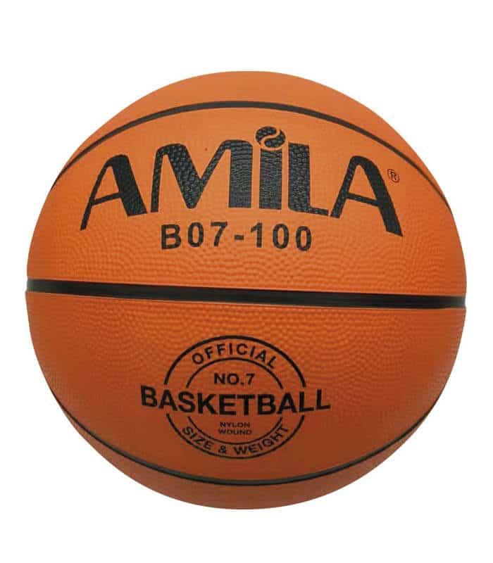 Μπάλα Μπάσκετ Νο. 7 Rubber ΒΟ7- 100 AMILA