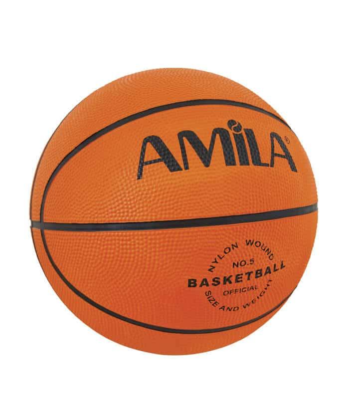 Μπάλα Μπάσκετ Νο. 5 Rubber RB5101 AMILA 41505