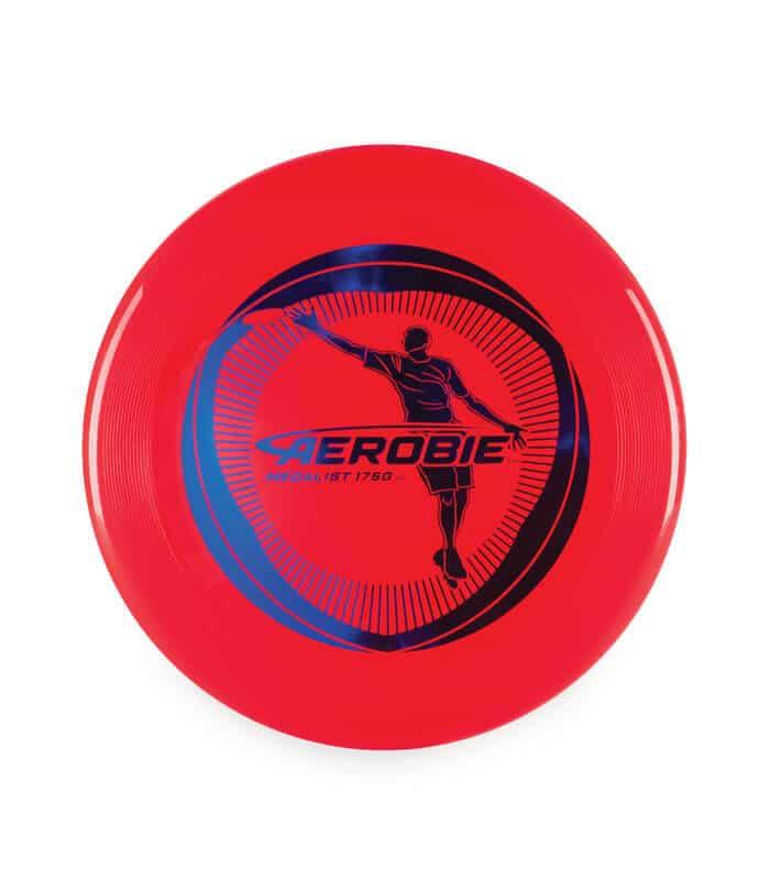 """Δίσκος Frisbee Αγωνιστικός """"Medalist"""" 27cm AEROBIE Κόκκινο"""