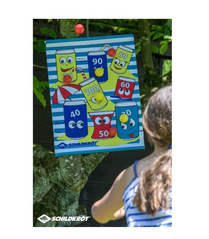 Παιχνίδι Στόχου Με Μπαλάκια Roll Up Dart Set SCHILDKROT