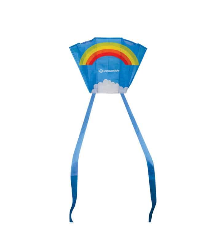 Χαρταετός Τσέπης Mini Pocket Kite Schildkrot Πολυεστέρας Ουράνιο Τόξο