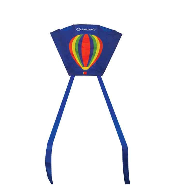 Χαρταετός Τσέπης Mini Pocket Kite Πολυεστέρας Schildkrot Αερόστατο