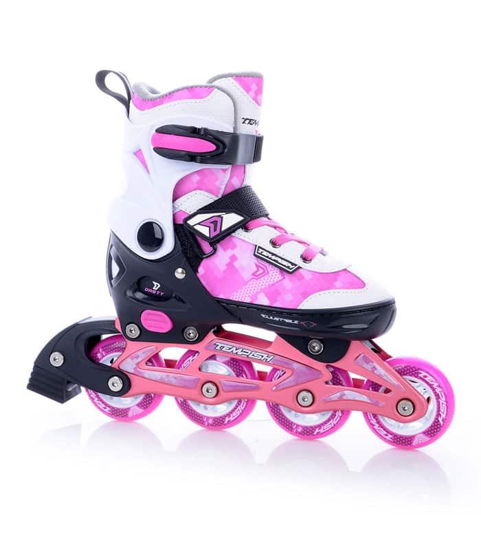 Roller Skates In-Line DASTY Girl Ρυθμιζόμενο TEMPISH Ροζ