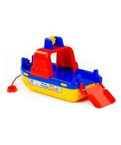 Βάρκα 31cm Πλαστική Ferry Lagoon Μπλε/Κόκκινο Polesie
