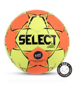 Μπάλα Handball Select Light Grippy Size 0 Κίτρινο/Πορτοκαλί