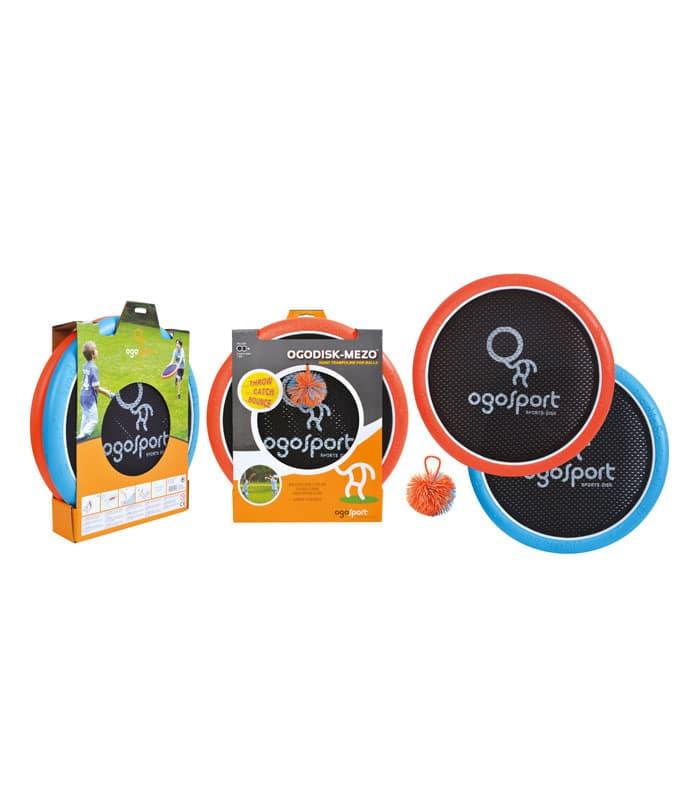 Παιχνίδι OGO Sport Set Μεγάλο Throw/Catch/Bounce Πορτοκαλί/Μπλε