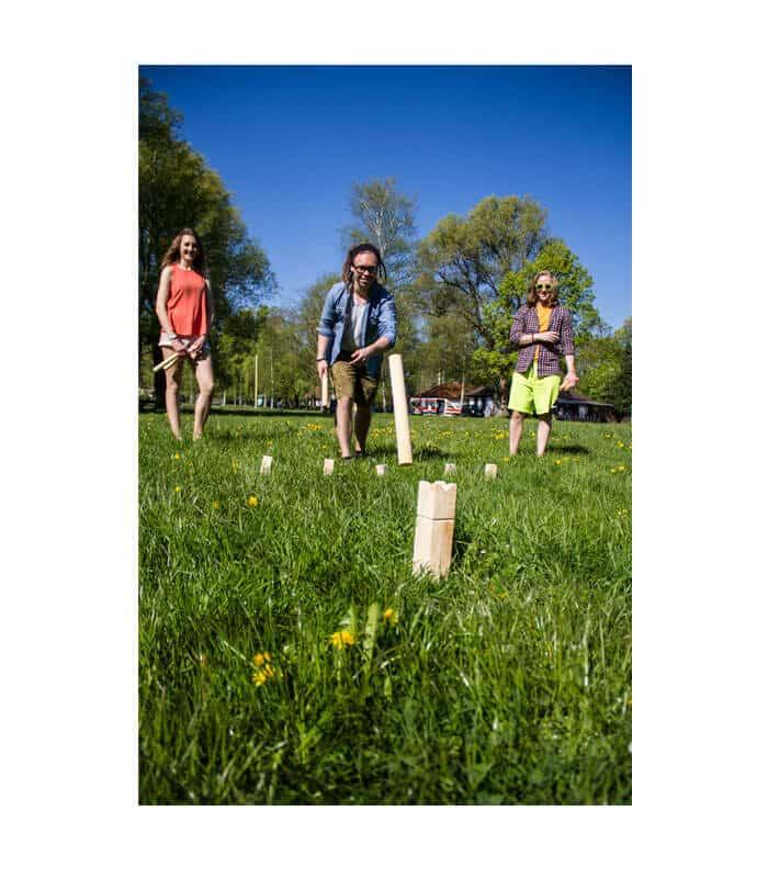 Ξύλινο Παιχνίδι Κήπου Kubb SCHILDKROT