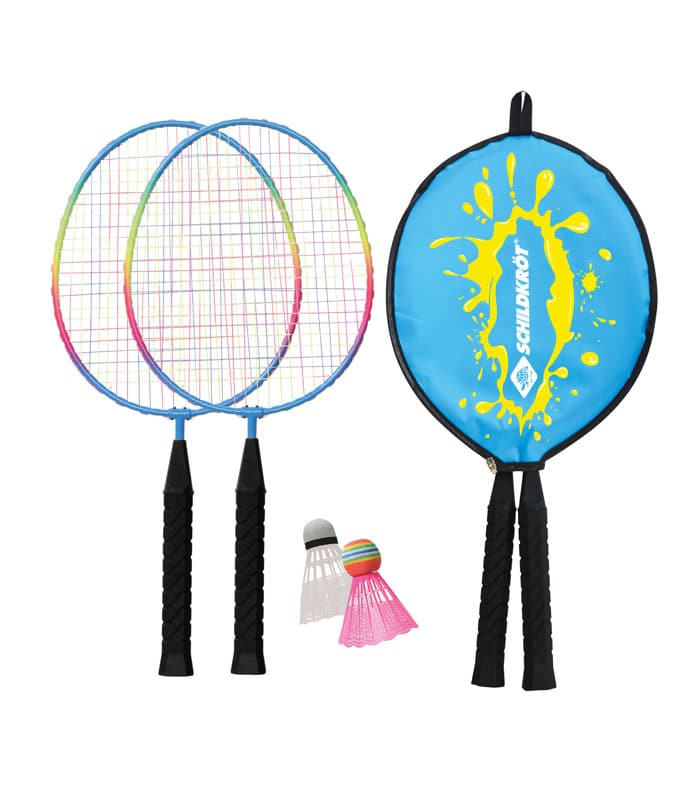 Σετ Badminton Junior 2 Παικτών Ρακέτες/Φτερά SCHILDKROT