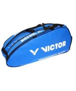 Τσάντα Ρακετών Διπλή VICTOR 9111 C Μπλε Tennis Badminton Squash