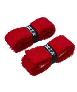 Grip Ρακέτας FORZA Towel Grip Αυτοκόλλητο 2 τμχ Κόκκινο