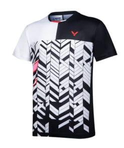Αθλητικό Μπλουζάκι Unisex VICTOR Τ-10007 C Μαύρο/Άσπρο
