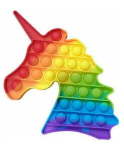 Pop it Big Bubble's fidget Rainbow Unicorn